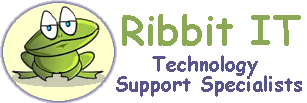 Ribbit IT logo